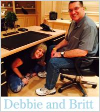 Debbie and Britt Real Wedding Story