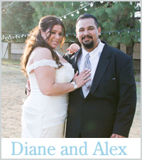 Diane and Alex Real Wedding Story