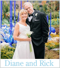 Diane and Rick, Real Wedding Story