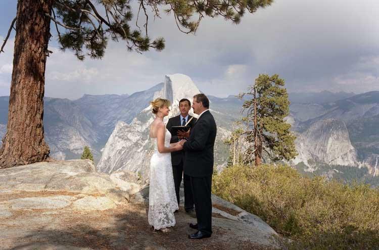Yosemite Wedding Photo National Park