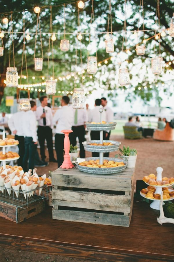 What are the pros and cons of having a backyard wedding reception? Will you hire caterers and party planners for your backyard reception or do everything yourse