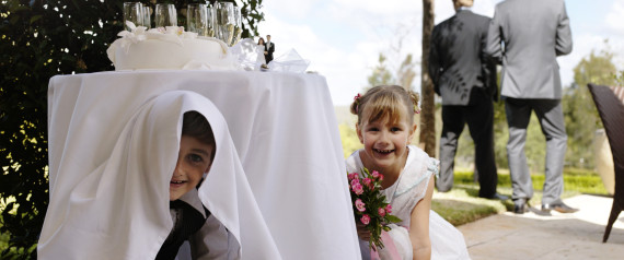Keeping children entertained at your wedding