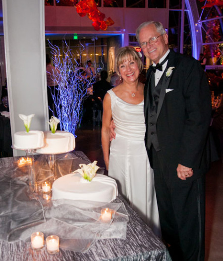 Real Wedding Story of Diane and Rick, Seattle WA