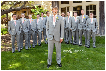 coral ties for the guys