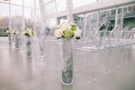 Wedding Seating at the Chihuly Garden and Glass Center