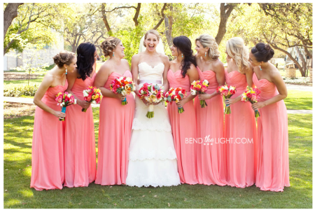 wedding colors - coral