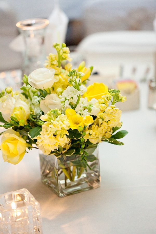 Wedding colors yellow marrying later in life yellow centerpieces for wedding table mightylinksfo