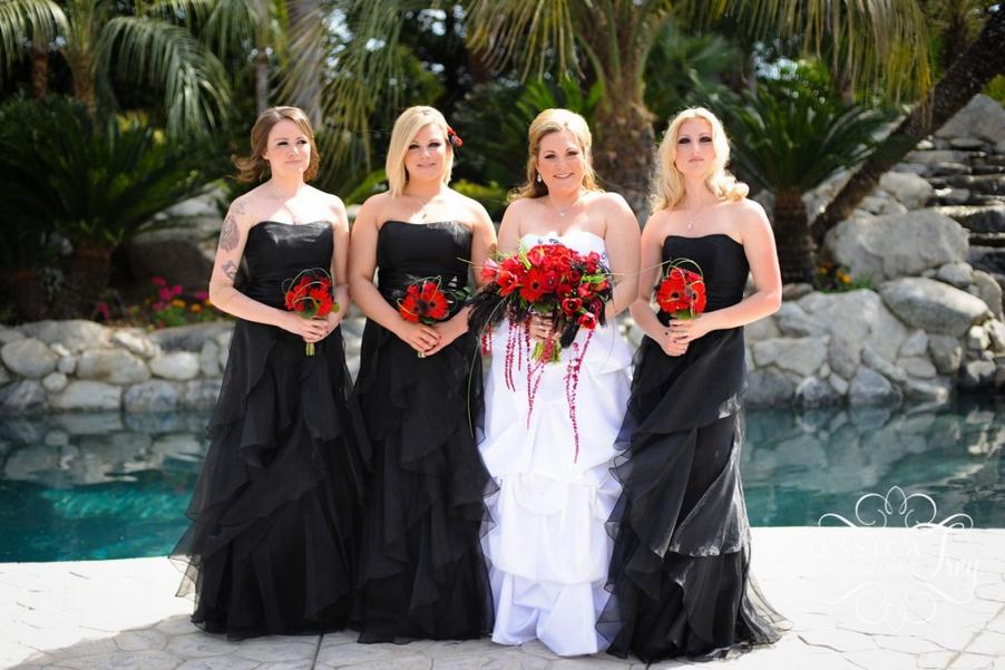 Cheap Black N White Wedding Dresses: Black And Red ... Peach ... Yellow