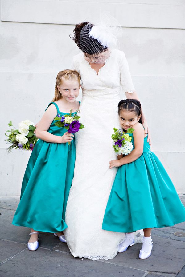 Wedding Colors - Teal - Marrying Later in Life
