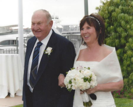 real wedding story of Diane and Fred, Marrying Later in Life