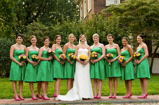 Kelly Green Wedding Color Schemes Wedding Colors Green