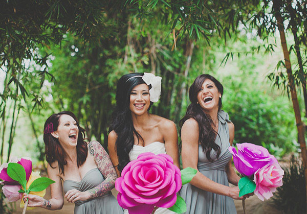 Choosing a different Bridal Bouquet-Marrying-Later-In-Life