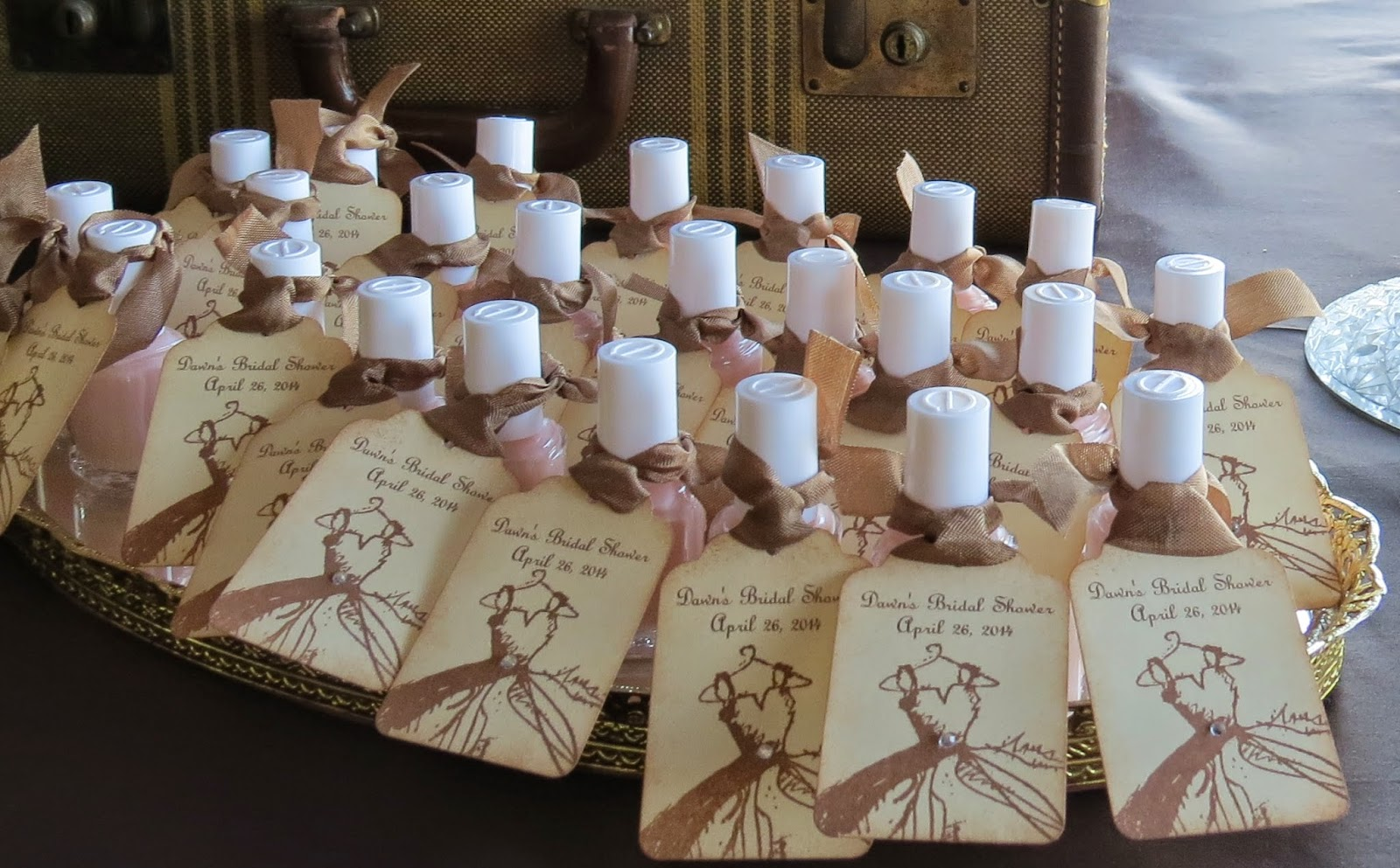 inspiration com spa bags favor evermine weddingblog favors bridal wedding shower weddings