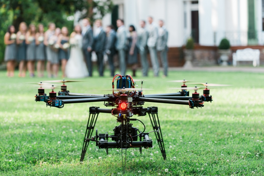 Drone Wedding Photography – do you love it or hate it?