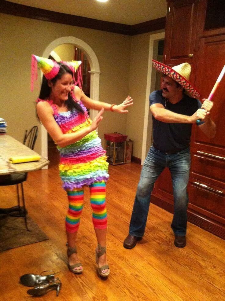 pinata halloween costume & Halloween Costumes for Couples ... What will you be? - Marrying ...