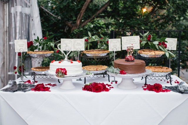 Fall Wedding Desserts - Marrying Later in Life