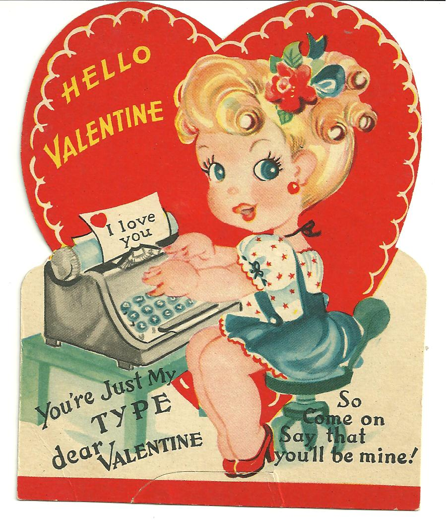 An Old Fashioned Valentine S Day Card Or Present Day You