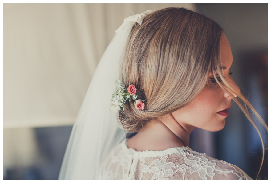 Will you have flowers in your hair for your wedding?