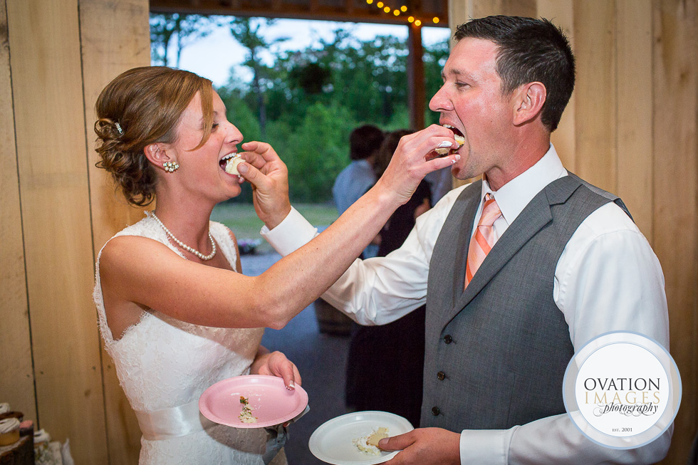 Bride And Groom Feeding Cake To Each Other Meaning Behind Wedding