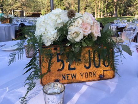License Plate Table Marker