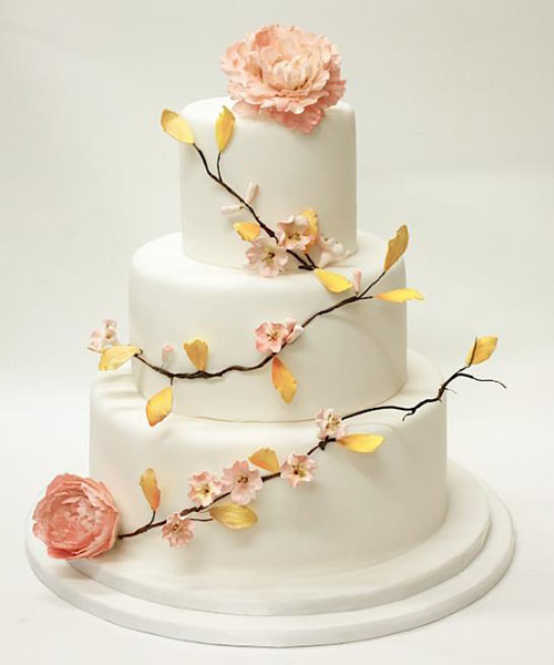 peach colored wedding cakes wedding cake peachy colors marrying later in 18137