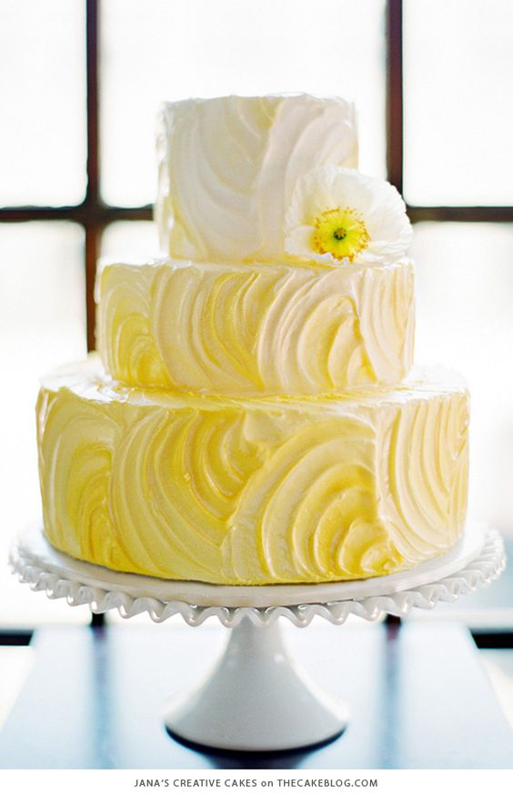 yellow and white wedding cake ideas wedding cake colors mellow yellow marrying later in 27692