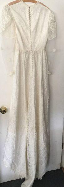 1940's wedding dress