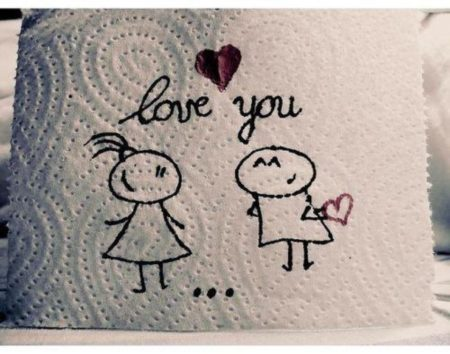 Love Note on a Napkin
