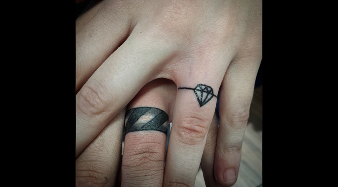 Wedding Ring Tattoos Would You Could You Should You Marrying