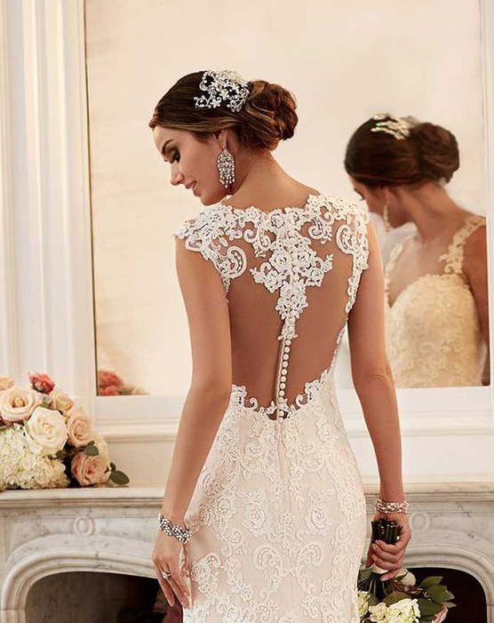 How to get a beautiful back for your wedding day marrying later wedding dresses are beautiful from the front and from the back sometimes the back of a wedding dresses is the main attraction see for yourself solutioingenieria Choice Image
