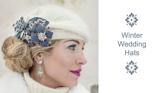 Winter Wedding Hats
