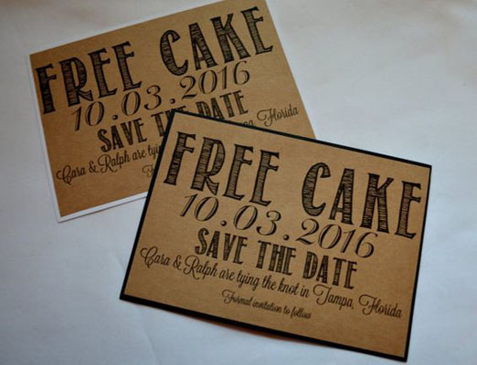 20 Funny Save the Date Cards … some might even make you laugh out loud!
