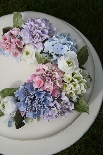 hydrangea wedding cake designs for the of hydrangeas marrying later in 16218