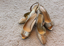 """How to prevent your wedding shoes from hurting on """"The Day!"""""""