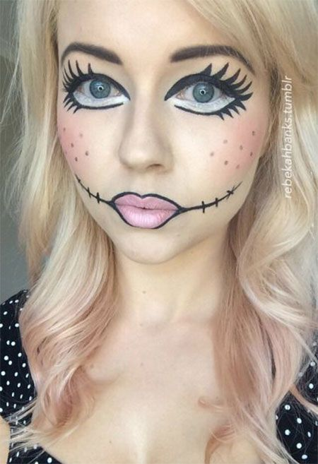 Halloween Makeup Examples and How-To - Marrying Later in Life