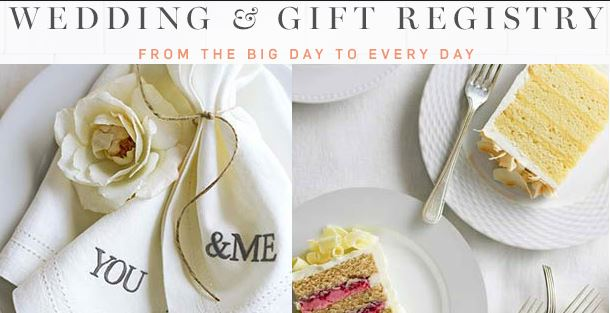 Wedding Registry Events … sipping, snacking, and scanning!