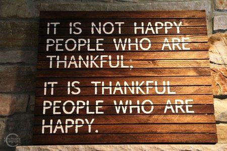 things to be thankful about