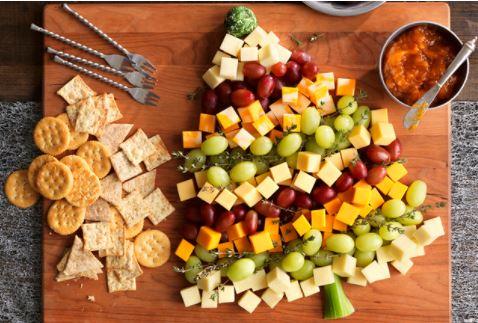 Christmas Tree Shaped Food!  Breakfast, Appetizers, Dinner and Dessert!  Enjoy!!